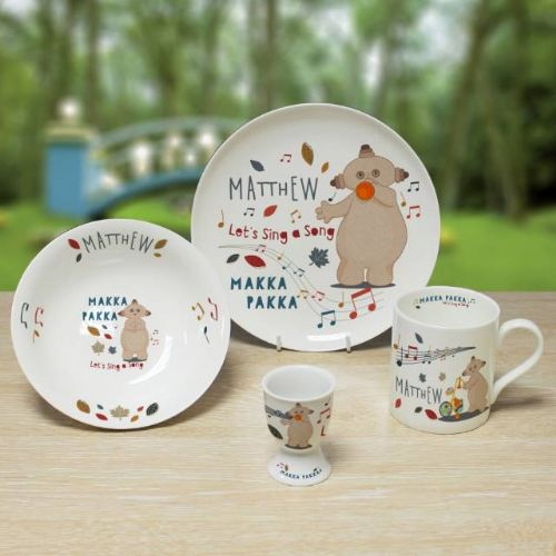 Personalised Makka Pakka Breakfast Set